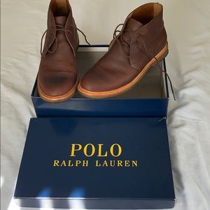 Like new Soft Milled pull up Ralph Lauren leather